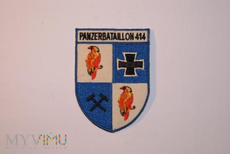 Naszywka Panzerbataillon 414