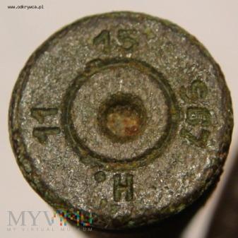 Łuska 7,92 x 57 mm Mauser 15 S67 H 11