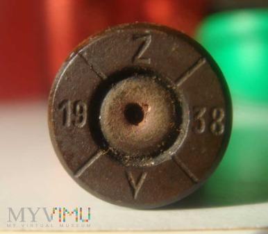 Łuska 7,92x57 Mauser maj 1938r.