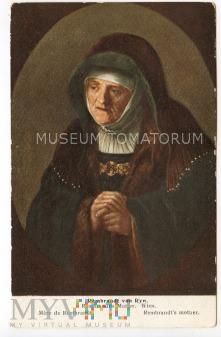 Rembrandt - Matka Rembrandta