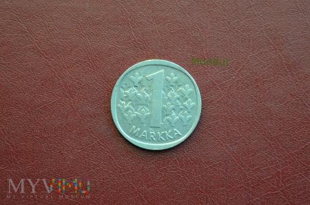 Moneta fińska: 1 markka