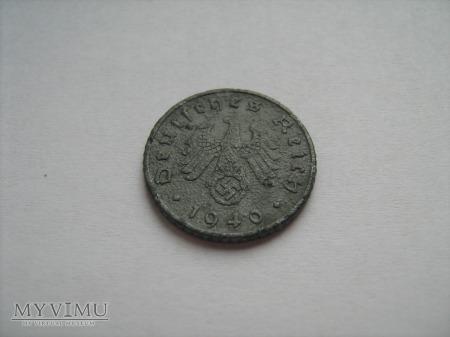 5 pfennigów 1940 F