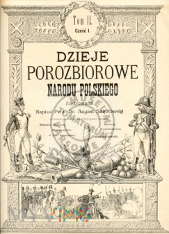 Pierwsza strona Dziejów Porozbiorowych Polski