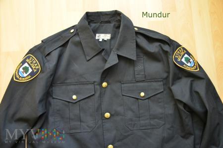 Mundur służbowy Straży Miejskiej - wiatrówka