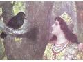 Kruk na drzewie Pytanie do Losu Pocztówka Ribano