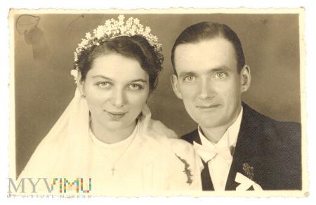 Duże zdjęcie 12.09.1941 śluby wojenne