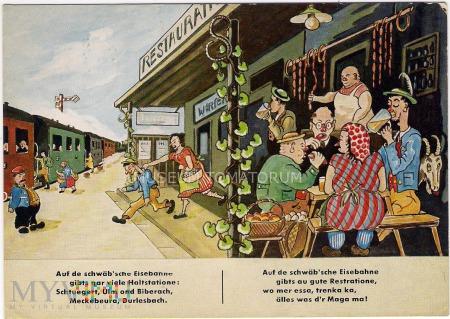 Na szwabskiej stacji kolejowej - lata 60-te XX w.