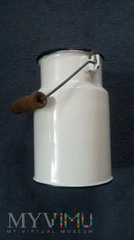 Kanka na mleko 1,25 litra. [Biała].