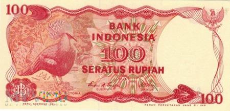 INDONEZJA 100 RUPII 1984