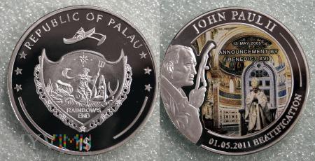 Palau, 1 dollar 2011