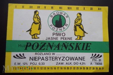 Browar Poznań Poznańskie Piwo Jasne Pełne