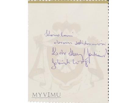 List od Ks. Prałata Henryka Jankowskiego