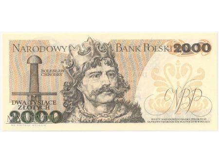 2000 złotych 1979 rok seria BA