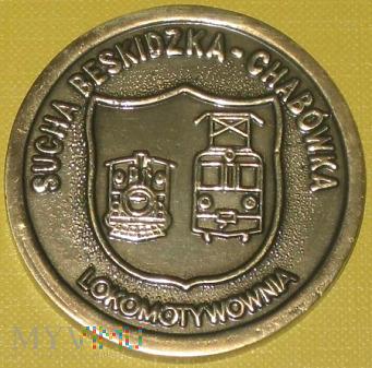 Medal Lokomotywowni Sucha Beskidzka - Chabówka