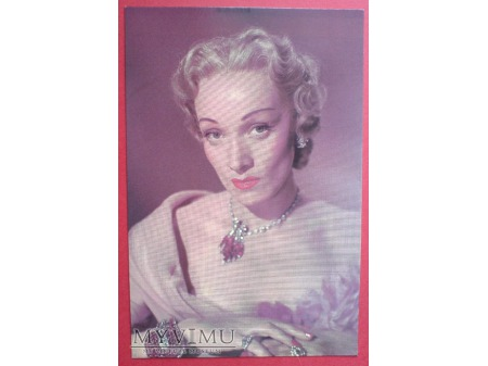 Marlene Dietrich i mnóstwo klejnotów
