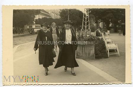 Spacer po Franzensbad - lata30-te XX w.