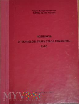 R60-2003 Instrukcja o pracy stacji towarowej