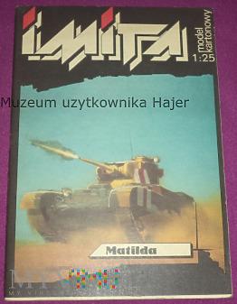 Matilda - model kartonowy 1:25 IMITA