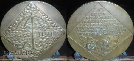 027. 40-lecie powstania Oddziału PARASOL 1943-1983