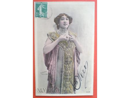 1910 Caroline OTERO ostatnia wielka kurtyzana