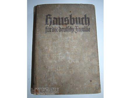 Duże zdjęcie Hausbuch für die deutsche Familie