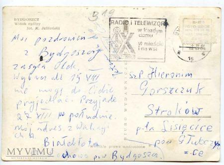 Bydgoszcz - Widok ogólny - 1967