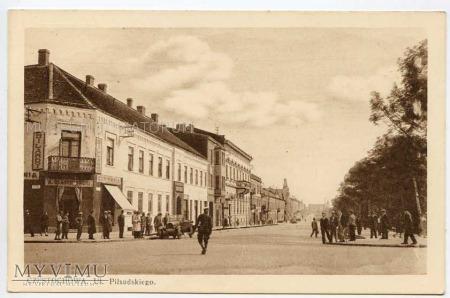 Częstochowa 1918-1939 ul. Piłsudskiego