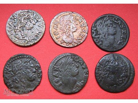 Szelągi 1660 - 1664 boratynka