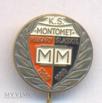 KS Montomet odznaka 20 lecie klubu