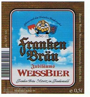 Duże zdjęcie franken bräu jubiläums weissbier