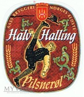 aass - halv halling pilsnerøl