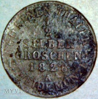 Fryderyk Wilhelm III 1797-1840-1/2 GROSCHEN 1828