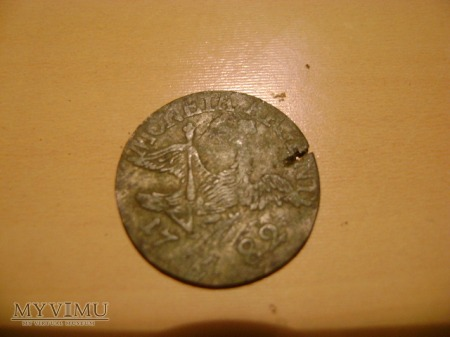 Moneta Argent 3 groscher 1782