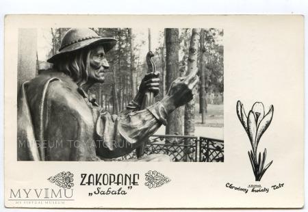 Zakopane - Posąg Sabały - lata 50/60