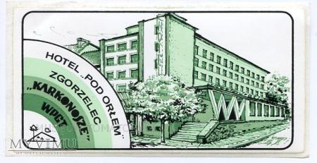 Duże zdjęcie Nalepka hotelowa - Zgorzelec - Hotel Pod Orłem