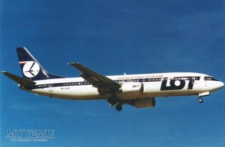 Boeing 737-45D, SP-LLB