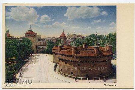 Kraków - Barbakan - lata 20/30-te XX w.
