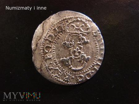 szeląg mennica Ryga 1605 r