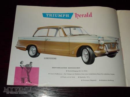 Prospekt TRIUMPH HERALD
