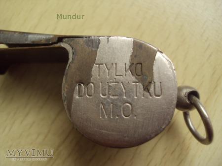 Gwizdek MO - metalowy