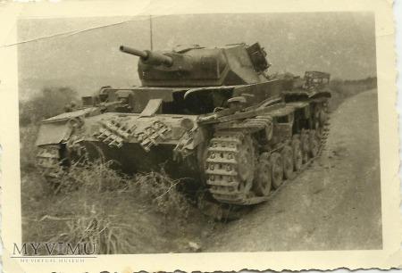 Duże zdjęcie Wrak czołgu Panzerkampfwagen III