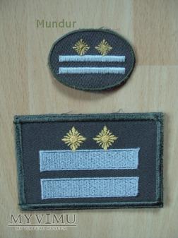 Duże zdjęcie NVA dystynkcje polowe Oberstleutnant