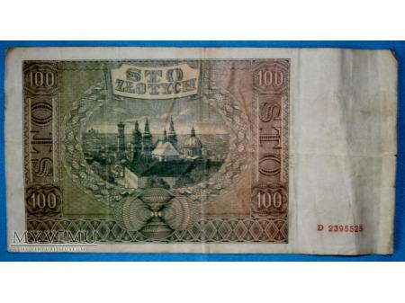 100 Złotych 1941
