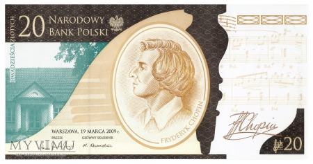 Polska - 20 złotych (2010)