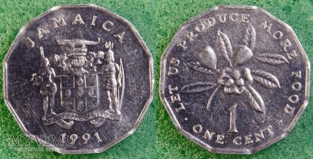 Jamajka, 1 CENT 1991