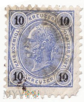 AUSTRIA 1890 10 kreutzer