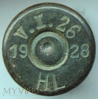 Łuska 8x58 R Krag V.I.26 28 HL 19