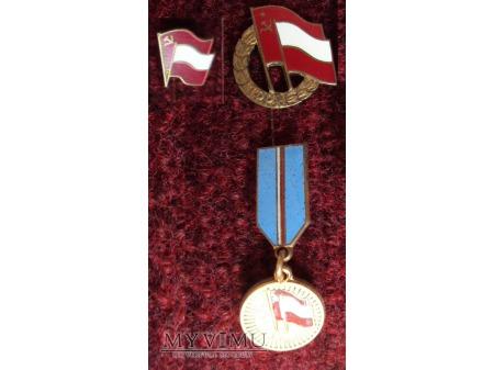 Duże zdjęcie Medal za Zasługi w Umacnianiu Przyjaźni PRL - ZSRR