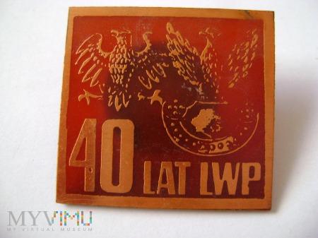 40 lat LWP