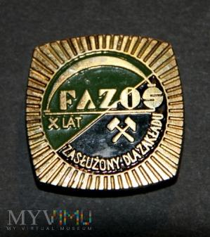 FAZOS X LAT Zasłuzony Dla Zakładu